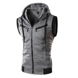 $enCountryForm.capitalKeyWord Australia - Male Casual Pocket Vest For Summer Men Solid Shooting Outerwear Zipper Waistcoat Sleeveless Jacket