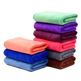Hair Driers UK - Hot Women Bathroom Super Absorbent Quick-drying Microfiber Bath Towel Hair Dry Cap Salon Towel 35x75cm