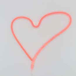 $enCountryForm.capitalKeyWord Australia - HOT HOT Novelty Neon Led Flamingo Night Light Sign Wall Lamp AABattery   USB Power For Xmas Fairy Rose Red Lighting light Sign Holiday