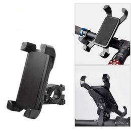 Wholesale Bicycle Bike Phone Holder Universal Degree Rotating Handlebar Clip Stand Mount Bracket For iphone XS MAX XR X Smart Mobile Cell Phone