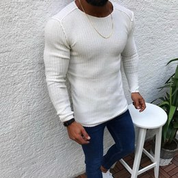 korean clothes sweater knits Australia - Litthing Autumn Cotton Sweater Pull Men Pullover Casual Jumper Male Brand Knitted Korean Style Clothes Plus Size Men Sweater