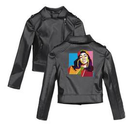 Coat Pu Zipper Australia - 2019 New Spring Cardi B Fans Zipper PU Jacket Women Slim Leather Jackets Outwear Clothes Fashion Cool zipper Street Coats