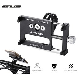Wholesale GUB G Aluminum Alloy MTB Bike Mount Bicycle inch Phone Holder Support GPS Bicycle Handlebar Bike Phone Mount Cycling Holder