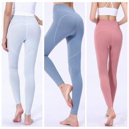 d2170b839d5e0f Women Skinny Leggings Heart Shaped Sports Gym Yoga Pants High Waist Workout  Tight Ninth Yoga Leggings Girls Trousers OOA6331