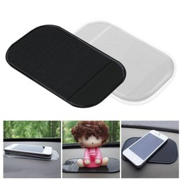 China New 1PC Car Dashboard Sticky Pad Silica Gel Strong Suction Pad Holder Anti Slip Mat For Mobile Phone Car Accessories cheap silica mat suppliers