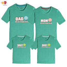 $enCountryForm.capitalKeyWord NZ - good quality 1PCS Dad Mom Baby Family Matching Clothing Summer Father Mother Daughter Son T-shirts Kids Clothing Family Outwear