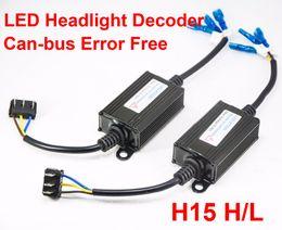 Flash decoder online shopping - 1 Pair H15 LED Decoder Car LED Headlight Warning Canceler Auto Canbus Can bus Error Free Fix Anti Hyper Flashing Blinking V