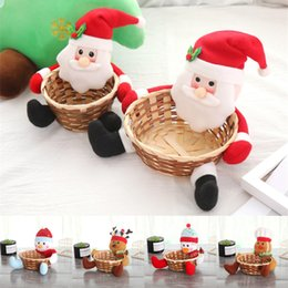 $enCountryForm.capitalKeyWord NZ - New christmas decorations basket 5 styles Christmas fruit basket Children large size gift boxes candy Biscuits basket JY422