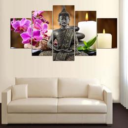 $enCountryForm.capitalKeyWord Australia - Full Square Round Drill 5D DIY diamond painting 5pc Buddha candle Pictures mosaic Diamond Embroidery Wall Arts J0878