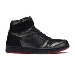 Wholesale gina for sale - Group buy 1s Palace Gina black red basketball shoes high quality TOP Factory Version mens trainer New Sneakers with Box