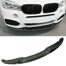 $enCountryForm.capitalKeyWord Australia - Car surrounded Real Carbon Fiber P Style Front Lip Spoiler F15 X5M Fit For BMW B173
