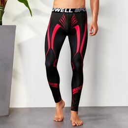 61dc0e0dae341 Gay Sport Man Australia - Sexy Running Tights Men Compression Pants Fitness  Gay Mens Gym Sport