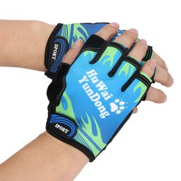 $enCountryForm.capitalKeyWord Australia - Bicycle Anti Slip Cycling Gloves Soft Washable Half Finger Outdoor Sports Fitness Training Summer Bike MTB Men Women Running