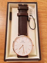 Gift boxes for bracelet watches online shopping - New Brand Fashion Daniel Wellington watches mm Men watch For Woman Watches DW Quartz Bracelet Wristwatches Montre Femme Christmas gift Box
