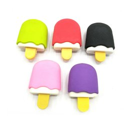 RubbeR eRaseR fRee shipping online shopping - Ice cream rubber eraser cartoon removable eraser stationery school supplies papelaria gift toy for kids penil eraser toy gift