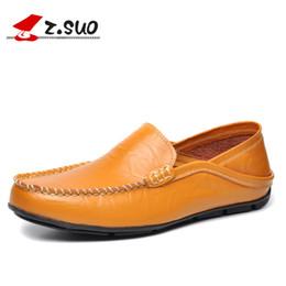 $enCountryForm.capitalKeyWord Australia - Leather Men Loafers Shoes Comfortable Casual Shoes Men Spring Autumn Black Soft Sole Driving Flat Blue Big Size:38-47