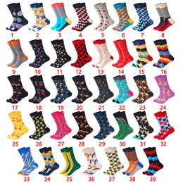 $enCountryForm.capitalKeyWord NZ - LIONZONE Hot Sales Street Wear Men Socks Joker Funny Colorful Design Combed Cotton Happy Socks Men Fashions Wedding Gift