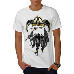 $enCountryForm.capitalKeyWord NZ - Wellcoda North Warrior Axe Mens T-shirt, Face Graphic Design Printed Tee