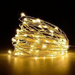 $enCountryForm.capitalKeyWord Australia - 11m 21m 31m 41m LED Outdoor Solar Lamp LEDs String Lights Fairy Holiday Christmas Party Garland Solar Garden Waterproof Lights