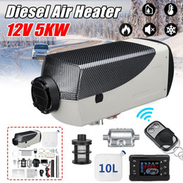 Lcd monitor for bus online shopping - Heater V W LCD Monitor Air diesels Fuel Heater Single Hole KW For Boats Bus Car With Remote Control and