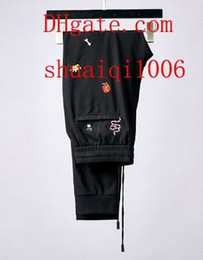 $enCountryForm.capitalKeyWord Australia - Brand Mens Pants Authentic Quality Crewneck casual sweatpants Pants Men loose Joggers Comfortable Man Elastic Pants Hip Hop mens clothes 38