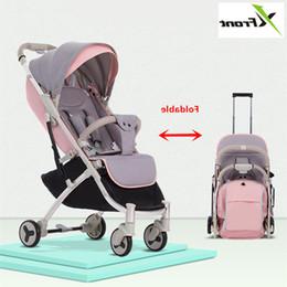 $enCountryForm.capitalKeyWord Australia - New Brand Baby Stroller Ultra Light Portable Folding Can Sit Lie Baby Child Kids Simple Pocket Mini Bike Hand Push Trolley
