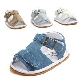 China Toddler Soft Soled Leather Casual Shoes Summer Baby Boy Girl Sandals Prewalker supplier sandal prewalker suppliers