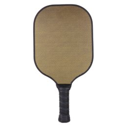 paddle tennis UK - Performance Carbon Fiber Honeycomb Composite Core Sports Pickleball Paddle   Racket & Premium Grip, Edge Guard- Choice of Colors