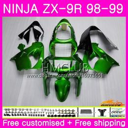 $enCountryForm.capitalKeyWord Australia - Body For KAWASAKI NINJA ZX900 ZX9 R ZX 900 ZX-9R 98 99 bodywork 68HM.24 Light green Top 900CC ZX 9 R ZX9R 98 99 ZX 9R 1998 1999 Fairings