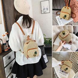 $enCountryForm.capitalKeyWord Australia - Women Girl Straw Backpack Rucksack Shoulder Satchel Bag Beach Handbag Tote Purse
