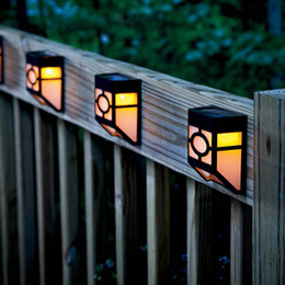$enCountryForm.capitalKeyWord Australia - Waterproof Outdoor Led Solar Powered Garden Fence Light Wall Fairy Lamp for and Cottage Decoration Country House