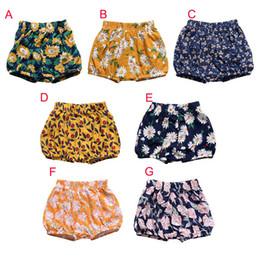 $enCountryForm.capitalKeyWord Australia - Newborn Floral Diaper Toddler Kids Baby Boy Girl Cotton Bottom Infant Bloomer Briefs Diaper Cover Panties 0-24M L