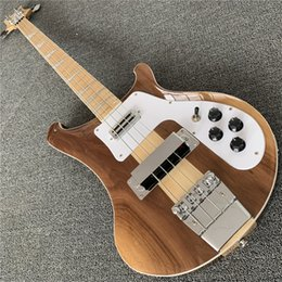 $enCountryForm.capitalKeyWord Australia - Free shipping NEW 4003W Natural Walnut Bass RARE TRANSLUCENT WALNUT vintage 4003 ric Electric Bass Guitar Neck Thru Body One PC Neck & Body