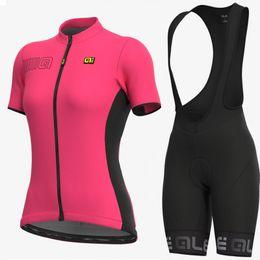 $enCountryForm.capitalKeyWord UK - 2019 ALE Team Pro short sleeve Cycling Jersey + Bib Shorts Cycling Set. women Bicycle Cycling Clothing Bike Wear Shirts Ropa Ciclismo Mtb