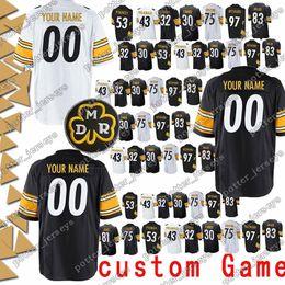 8a611c4a9 Pittsburgh Jerseys Steeler 75 Joe Greene 11 Markus Wheaton 10 Martavis  Bryant 53 Maurkice Pouncey 50 Ryan Shazier Jersey custom Game