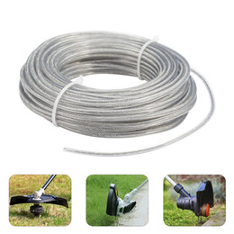 garden tools Canada - 3.0mm 15m Grass Trimmer Wire Cord Line Strimmer Rope Garden Tools Parts