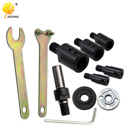 $enCountryForm.capitalKeyWord NZ - heap Power Tool Accessories 5 6 8 10 12mm drill Spindle Adapter Grinding Polishing Shaft Motor Bench Grinder Saw blade adapter Connecting...