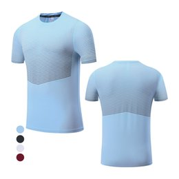 sport traning UK - Print Gym Shirts Man Running 2020 Sports Tee Homme Breathable Shirt Outdoor Traning Short Sleeved Man Blouse Tee
