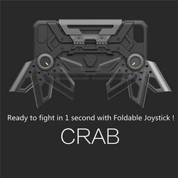 $enCountryForm.capitalKeyWord Australia - Foldable Joystick Crab Shell Game Handle Hybrid PC Back Case Cellphone Protection Case Cover For iPhone Fashion Case
