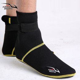 Swims Boots NZ - 3mm Neoprene Snorkeling Shoes Scuba Diving Socks Beach Boots Wetsuit Prevent Scratches Warming Non-slip Winter Swimming