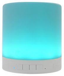 $enCountryForm.capitalKeyWord UK - Portable Wireless touch Control, Night Light Bluetooth Speaker with 7 color led Bedside Table Light, Speakerphone