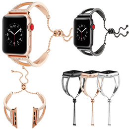 Red Smart Watches Australia - For Apple Watch Series iWatch 38mm 40MM 42mm 42MM Iwatch Serise 1 2 3 4 Stainless Steel Smart Watch Strap