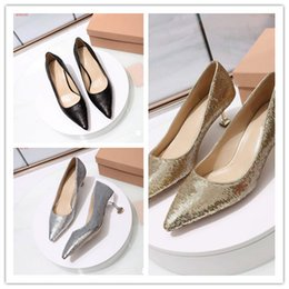 Sexy Round Peep Toe Stiletto Australia - Women high heels wedding dress shoes famous brand sexy ladys pumps Genuine Leather fashion Slip-On girl's party 2019 newest single shoes