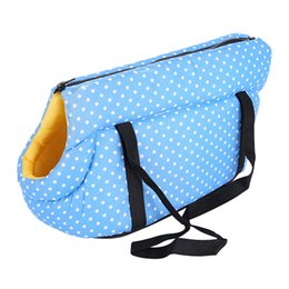 $enCountryForm.capitalKeyWord Australia - Pet Bag Portable Sleeping Foldable Puppy Cat Fashion Shoulder Zipper Outdoor Travel Gift Small Elastic Sponge Carrier House