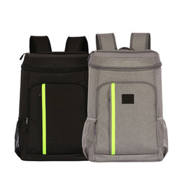 Picnic Backpacks Australia - New Insulated Ice Cooler Large Backpack Picnic Camping Rucksack Beach Cooling Beer Insulation Thermal Bag With Bottle Opener
