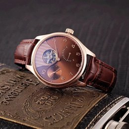 $enCountryForm.capitalKeyWord Australia - Luxury watch Automatic mechanical movement 316 stainless steel case Three-degree life waterproof Classic pin buckle leather strap 42mm 12mm