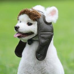$enCountryForm.capitalKeyWord Australia - New Arrival Pet Dogs Hat Puppy Warm Comfortable Handsome Poilt Cap Autumn Winter Cashmere Free Shipping XS-L