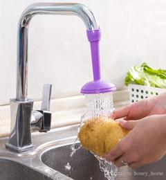 $enCountryForm.capitalKeyWord Australia - Creative Kitchen Bathroom Shower Save Water Tap Rotating Spray Adjustable Faucet Regulator Extender Spill Valve Shower Filter