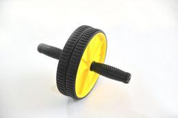 Rueda de los músculos abdominales para hombres rollo de hogar para las mujeres de entrenamiento abdominal equipos de gimnasia abdominal de rebote automático en venta