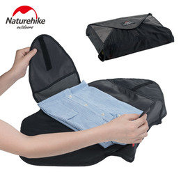Travel Kit Clothes Australia - NatureHike Outdoor Travel Kits Portable Shirt Clothes Organizer Case Suitcase Handbag Pouch Divider Container NH17S012-N #109685